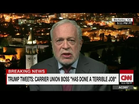 Robert Reich slams Trump for being 'thin-skinned'