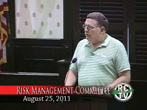 Risk Management Committee - August 25, 2011