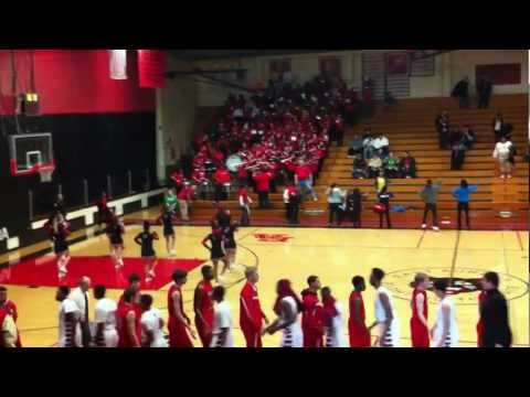 """East Aurora High School Tomcat Fight Song """"Wave the Flag"""""""