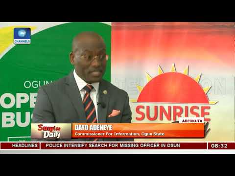 Ease Of Doing Business: Ogun Now Rated Among Top 4 In Nigeria-- Adeneye |Sunrise Daily|