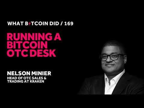 Nelson Minier On Running A Bitcoin OTC Desk