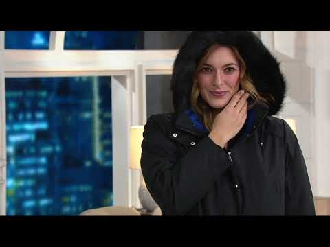 select for original huge sale hot-selling official Susan Graver 3 in 1 Anorak Jacket and Puffer Coat on QVC ...