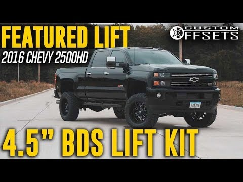 Best Lift Kit For Chevy 2500Hd >> Featured Lift 4 5 Bds Lift Kit 2016 Chevy 2500hd