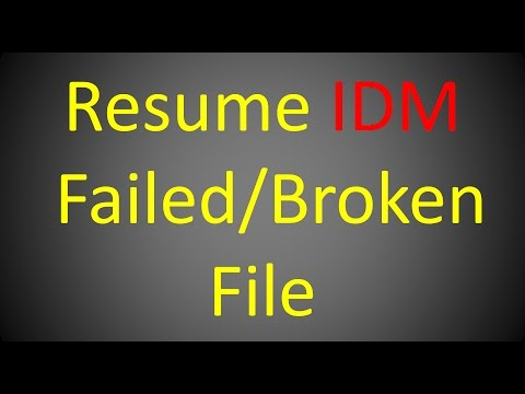 how-to-resume-failed-download-in-idm-(-internet-download-manager-)-solved