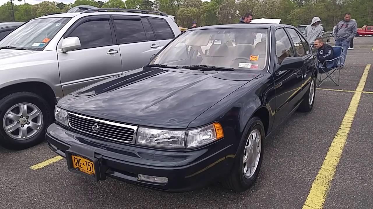1993 Nissan Maxima V6 - YouTube