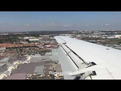 Flight - From Zimbabwe to Johannesburg - SA Airlink - Air Zimbabwe