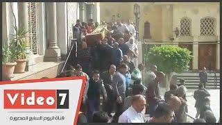 بالفيديوتشيع جنازة مديحة سالم من الحامدية الشاذلية وابنتها تنهار بين يدى سمير صبرى