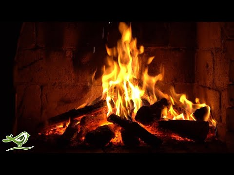 Instrumental Christmas Music with Fireplace 24/7 - Merry Chr