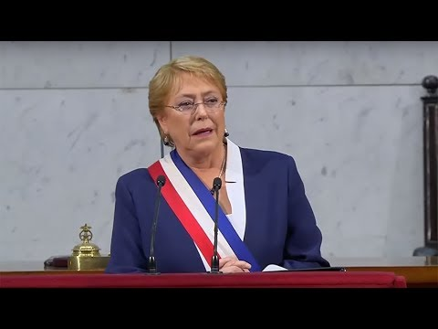 Presidenta Michelle Bachelet - Cuenta Pública 2017