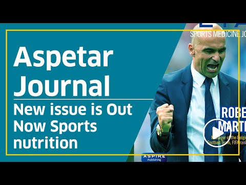Aspetar Journal - New issue is Out Now Sports nutrition