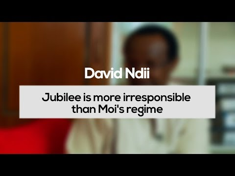 David Ndii: Jubilee is More Irresponsible Than Moi's Regime