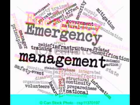 Introduction to Emergency Management pt. 1