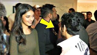 Anurag Kashyap Daughter  Aliya Spotted Staring At Sairat Actor Akash Thosar