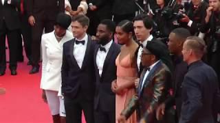 World premiere BlacKkKlansman with Spike Lee - red carpet at Cannes filmfestival