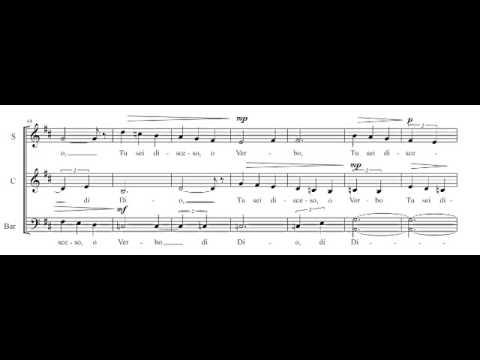 """R.Brisotto: """"Mentre il silenzio"""" (Contemporary choral music)"""