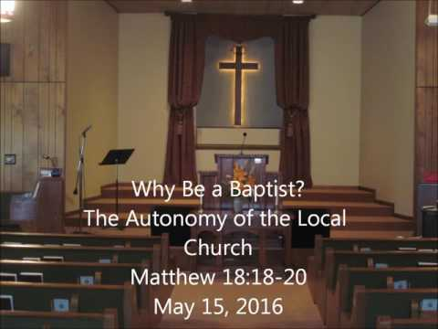 The Autonomy of the Local Church
