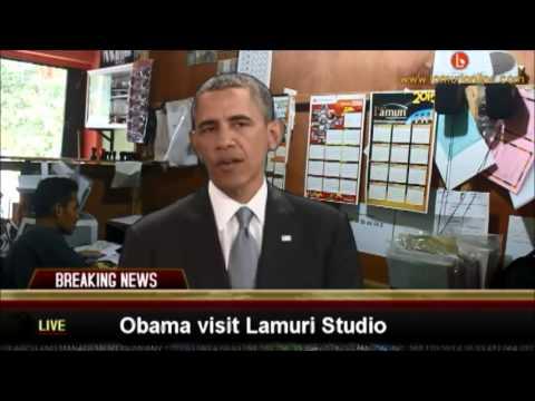 Obama di Kantor Lamuri
