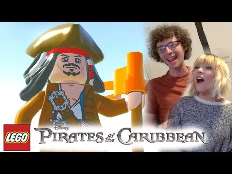 Stampy & Sqaishey - LEGO: Pirates Of The Caribbean ~ Ep 1