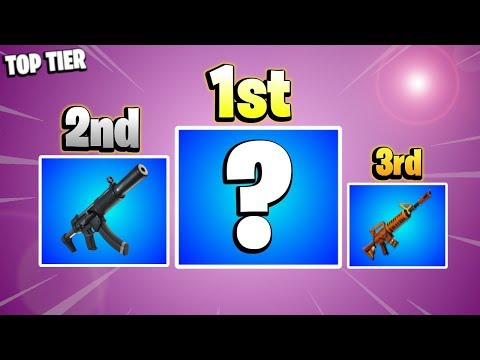 *BEST* RANGED WEAPONS | Top Tier Guns Fortnite Save the World PvE