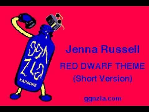 ggnzla KARAOKE 104, Jenna Russell - RED DWARF THEME (Short Version)