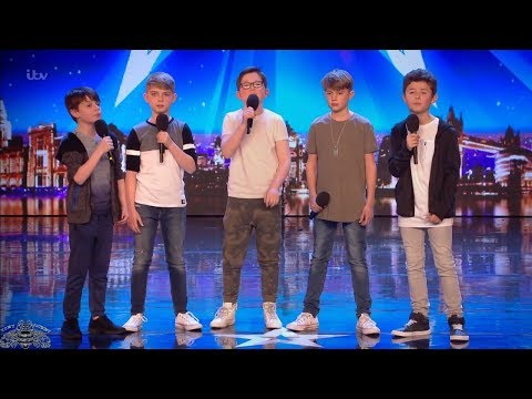 Britain's Got Talent 2018 Made Up North 10 & 11 Year Old Boy Band Full Audition S12E06