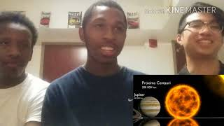 wow, we are tiny! Universe size comparison 3d reaction | Twistmcfly reacts
