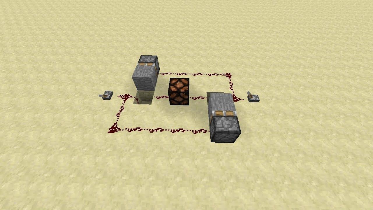 Minecraft Redstone Ideas3 Way Switch YouTube - 2 Way Switch Minecraft