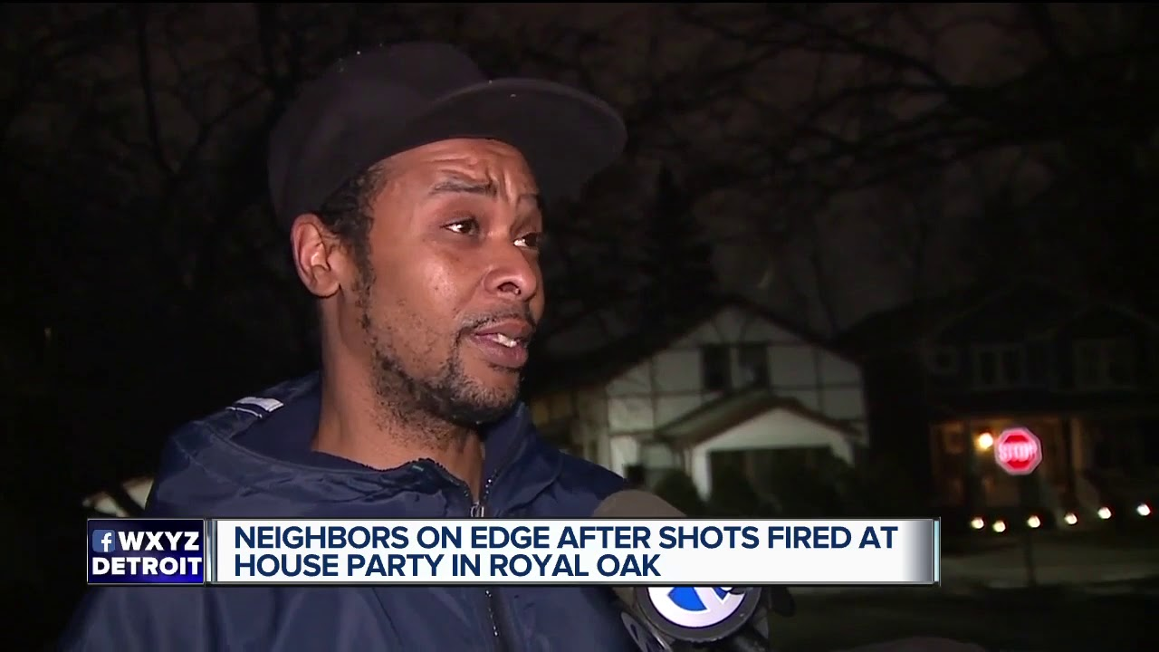 Neighbors on edge after shots fired at house party in Royal Oak