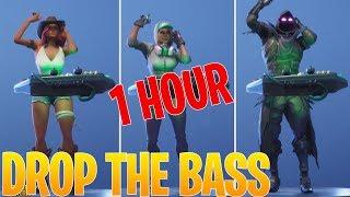 FORTNITE DROP THE BASS - 1 HOUR VERSION - FORTNITE DANCE