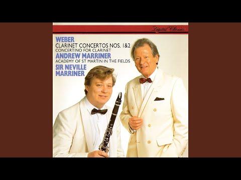 Weber: Clarinet Concerto No.1 In F Minor, Op.73 - 1. Allegro