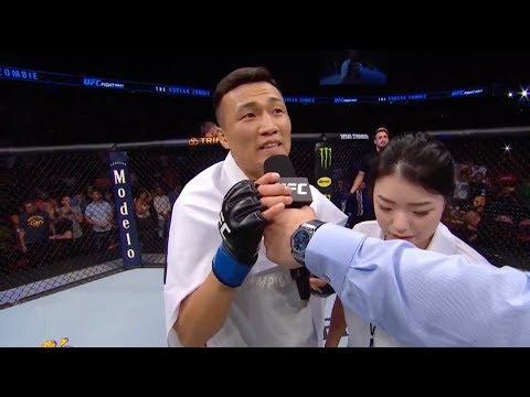 UFC Гринвилл: Корейский зомби - Слова после боя