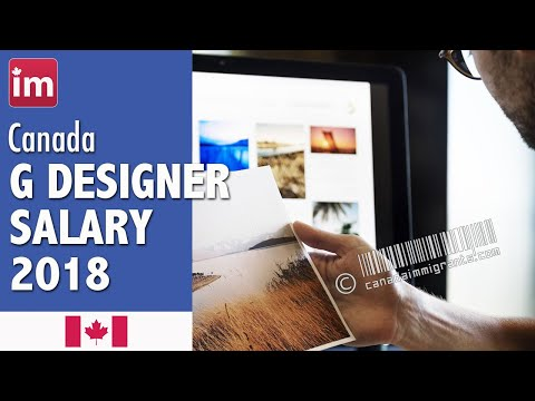 Graphic Designer Salary In Canada And Job Outlook (2018)