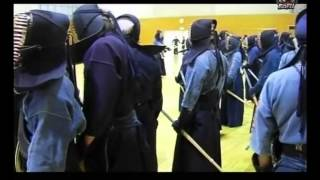 Kokushikan University's kendo training part of a kendo documentary