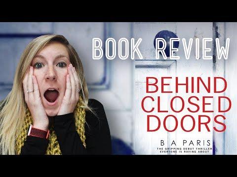 Behind Closed Doors Book Review | Spoiler Free