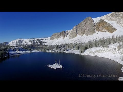Soaring above Medicine Bow - Wyoming