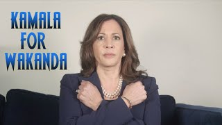 Senator Kamala Harris Has Her Eyes Set On Wakanda