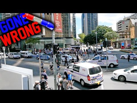 COPS VS INSANE SCOOTER JAM! *POLICE BRUTALITY!*