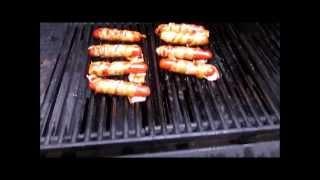 Teriyaki Bacon Dogs | Bbqs Galore Grill32 | 7/11