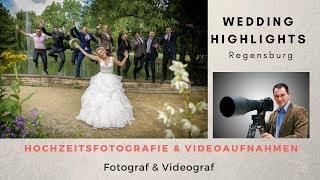 Hochzeitsfotograf Regensburg. Wedding Highlights von Alex & Linda