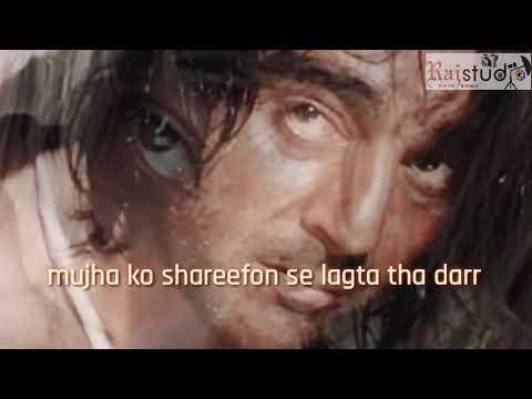 Nayak nahi khalnayak hu main// sanjay dut movie song// edit by rajababu patwa