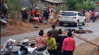 Tai nạn giao thông nghiêm trọng, 1 người tử vong khi chở tre ở Mường La, Sơn La
