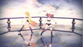 Download [MMD] Teto Kasane, Neru Akita - Lucky Strike + Downloads Mp3