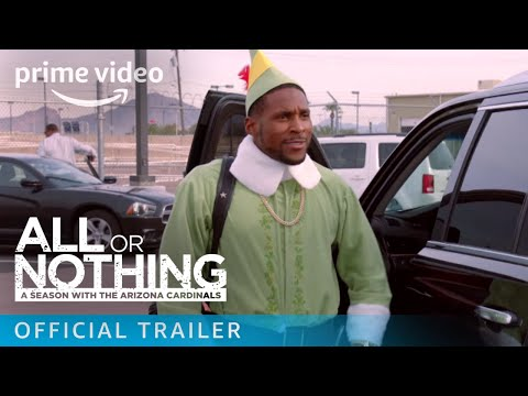 All or Nothing: A Season with the Arizona Cardinals - Season 1 Official Trailer   Prime Video