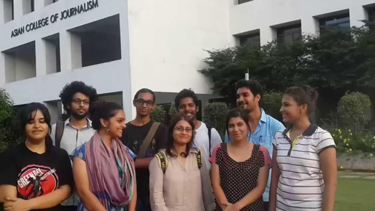 Asian college of journalism chennai