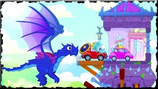 Wheely 6 Fairytale Full Game Walkthrough (All Levels)