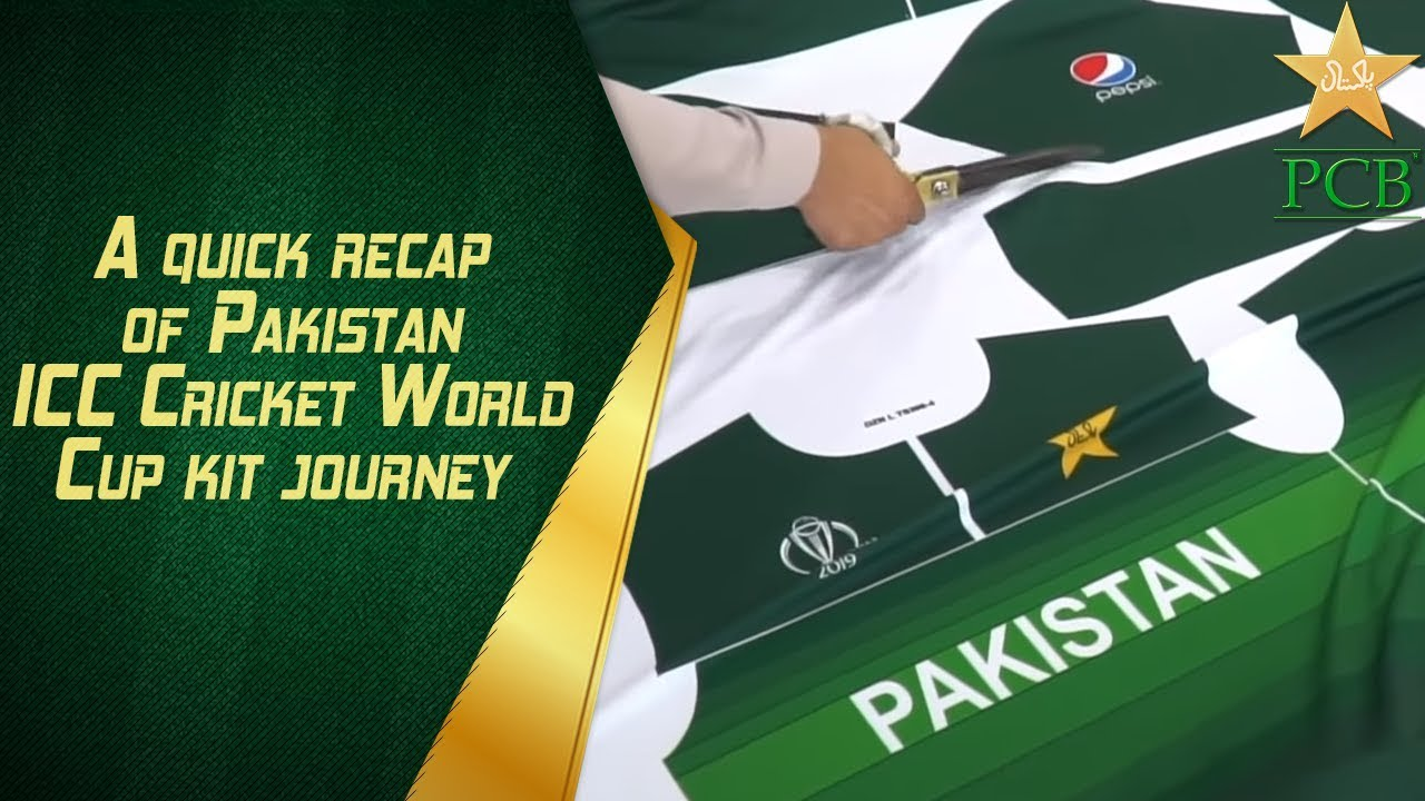 A quick recap of Pakistan ICC Cricket World Cup kit journey