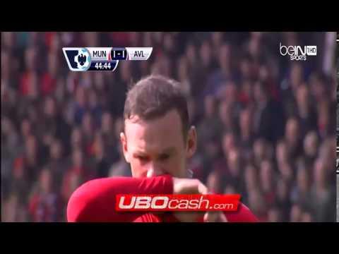 Manchester United 4-1 Aston Villa 29 Maret 2014