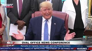 PRESIDENT SLAMS IRAN: President Trump Takes On Iran at White House