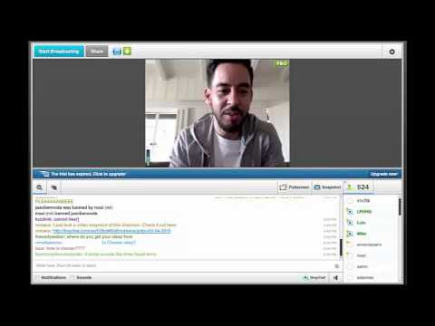 Linkin Park Spain 2.0 - Videochat LPU with Mike Shinoda 02.04.2015