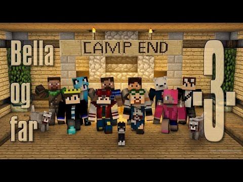 Dansk Minecraft - Camp End #03 - Mine, tinkers hakke og enchanting (HD)
